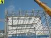 Montáž střešních trapézových plechů (střech)